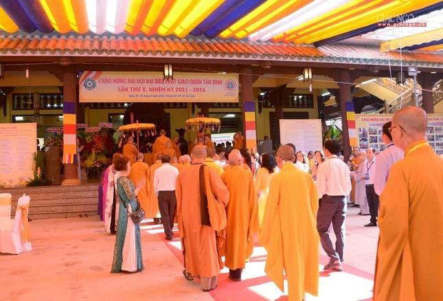 Đại hội Phật giáo quận Tân Bình lần X: Thượng tọa Thích Đạt Đức tái nhiệm Trưởng ban Trị sự ảnh 9