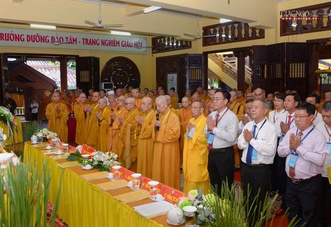 Đại hội Phật giáo quận Tân Bình lần X: Thượng tọa Thích Đạt Đức tái nhiệm Trưởng ban Trị sự ảnh 1