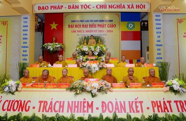 Đại hội Phật giáo quận Tân Bình lần X: Thượng tọa Thích Đạt Đức tái nhiệm Trưởng ban Trị sự ảnh 10
