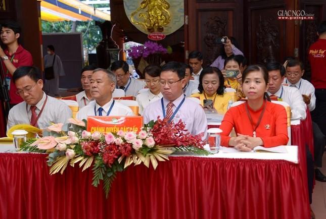 Đại hội Phật giáo quận Tân Bình lần X: Thượng tọa Thích Đạt Đức tái nhiệm Trưởng ban Trị sự ảnh 11