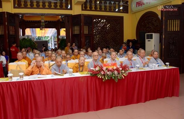 Đại hội Phật giáo quận Tân Bình lần X: Thượng tọa Thích Đạt Đức tái nhiệm Trưởng ban Trị sự ảnh 13