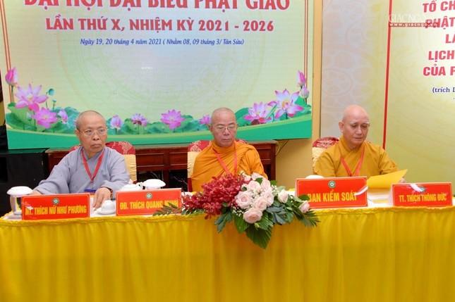 Đại hội Phật giáo quận Tân Bình lần X: Thượng tọa Thích Đạt Đức tái nhiệm Trưởng ban Trị sự ảnh 14