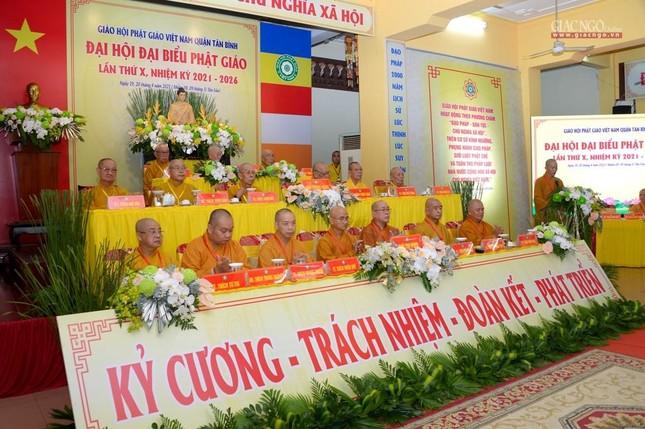 Đại hội Phật giáo quận Tân Bình lần X: Thượng tọa Thích Đạt Đức tái nhiệm Trưởng ban Trị sự ảnh 15