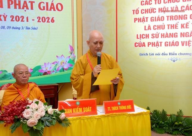 Đại hội Phật giáo quận Tân Bình lần X: Thượng tọa Thích Đạt Đức tái nhiệm Trưởng ban Trị sự ảnh 16