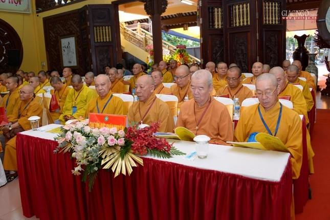 Đại hội Phật giáo quận Tân Bình lần X: Thượng tọa Thích Đạt Đức tái nhiệm Trưởng ban Trị sự ảnh 4
