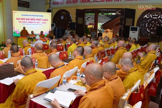 Đại hội Phật giáo quận Tân Bình lần X: Thượng tọa Thích Đạt Đức tái nhiệm Trưởng ban Trị sự ảnh 57