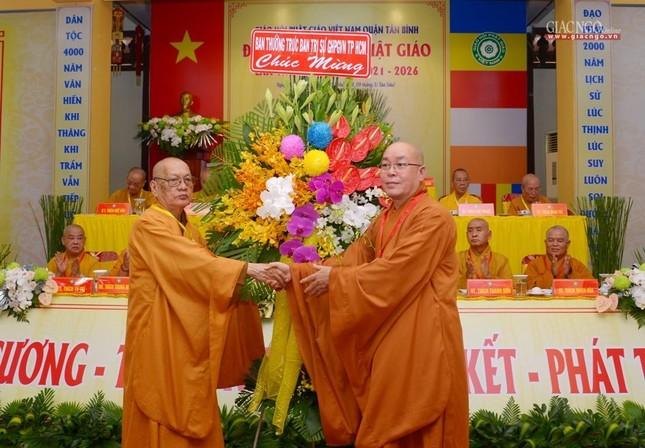 Đại hội Phật giáo quận Tân Bình lần X: Thượng tọa Thích Đạt Đức tái nhiệm Trưởng ban Trị sự ảnh 18