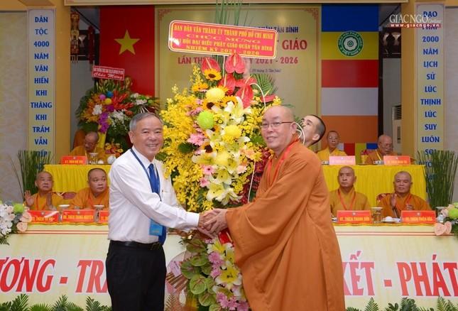 Đại hội Phật giáo quận Tân Bình lần X: Thượng tọa Thích Đạt Đức tái nhiệm Trưởng ban Trị sự ảnh 19