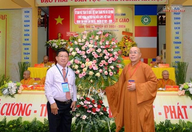 Đại hội Phật giáo quận Tân Bình lần X: Thượng tọa Thích Đạt Đức tái nhiệm Trưởng ban Trị sự ảnh 20