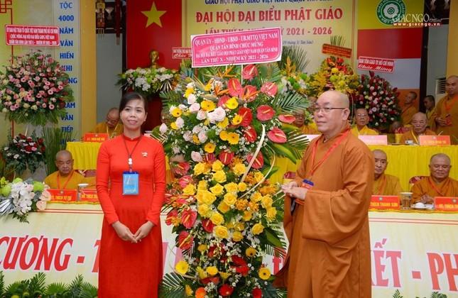 Đại hội Phật giáo quận Tân Bình lần X: Thượng tọa Thích Đạt Đức tái nhiệm Trưởng ban Trị sự ảnh 22
