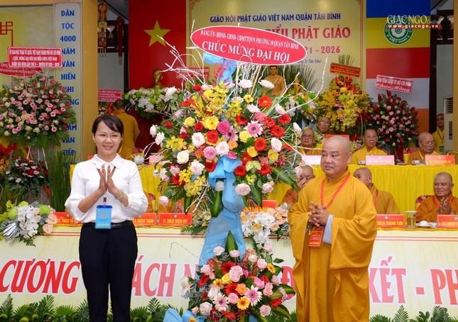 Đại hội Phật giáo quận Tân Bình lần X: Thượng tọa Thích Đạt Đức tái nhiệm Trưởng ban Trị sự ảnh 24