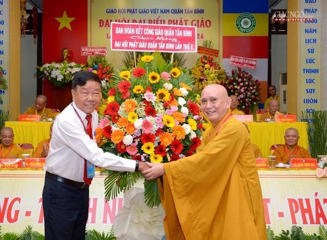 Đại hội Phật giáo quận Tân Bình lần X: Thượng tọa Thích Đạt Đức tái nhiệm Trưởng ban Trị sự ảnh 25