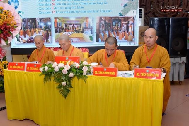 Đại hội Phật giáo quận Tân Bình lần X: Thượng tọa Thích Đạt Đức tái nhiệm Trưởng ban Trị sự ảnh 27