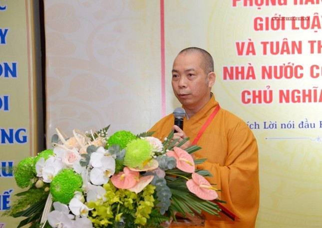 Đại hội Phật giáo quận Tân Bình lần X: Thượng tọa Thích Đạt Đức tái nhiệm Trưởng ban Trị sự ảnh 28