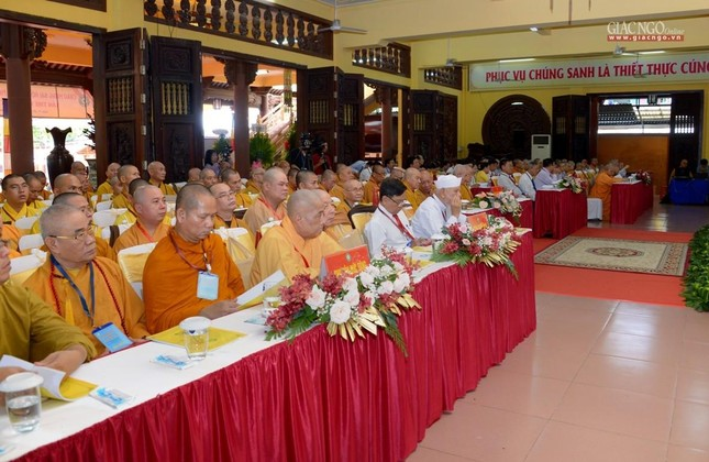 Đại hội Phật giáo quận Tân Bình lần X: Thượng tọa Thích Đạt Đức tái nhiệm Trưởng ban Trị sự ảnh 29