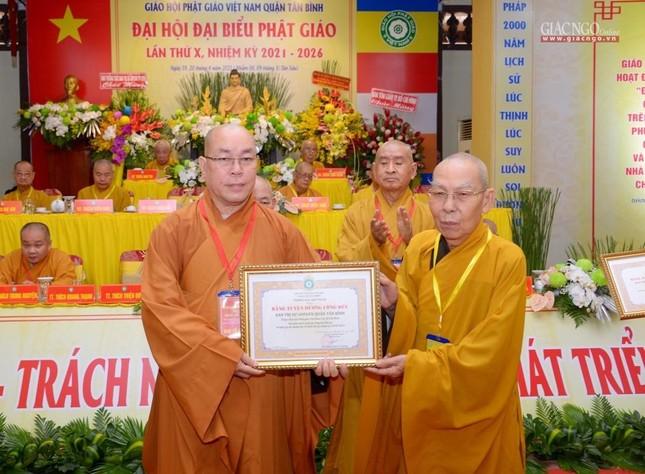Đại hội Phật giáo quận Tân Bình lần X: Thượng tọa Thích Đạt Đức tái nhiệm Trưởng ban Trị sự ảnh 8