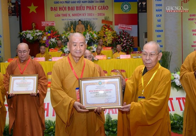 Đại hội Phật giáo quận Tân Bình lần X: Thượng tọa Thích Đạt Đức tái nhiệm Trưởng ban Trị sự ảnh 31
