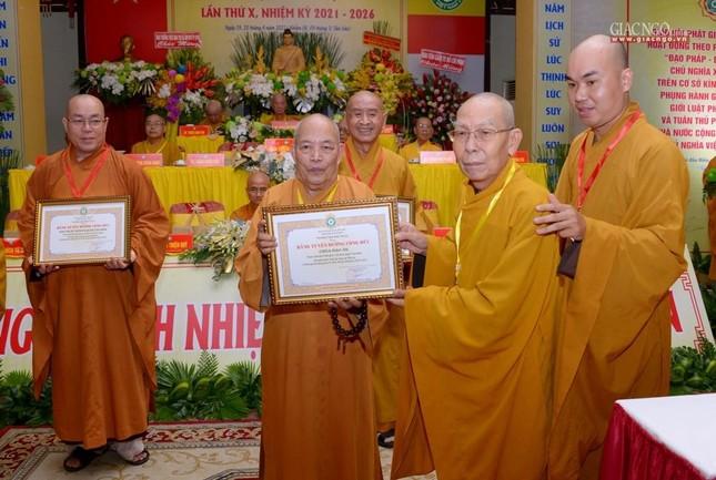 Đại hội Phật giáo quận Tân Bình lần X: Thượng tọa Thích Đạt Đức tái nhiệm Trưởng ban Trị sự ảnh 32