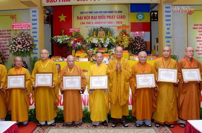Đại hội Phật giáo quận Tân Bình lần X: Thượng tọa Thích Đạt Đức tái nhiệm Trưởng ban Trị sự ảnh 34