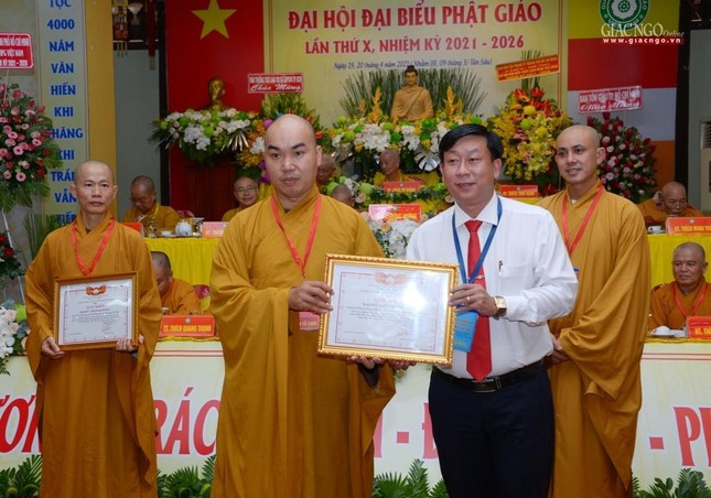 Đại hội Phật giáo quận Tân Bình lần X: Thượng tọa Thích Đạt Đức tái nhiệm Trưởng ban Trị sự ảnh 40