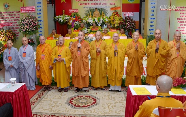 Đại hội Phật giáo quận Tân Bình lần X: Thượng tọa Thích Đạt Đức tái nhiệm Trưởng ban Trị sự ảnh 42