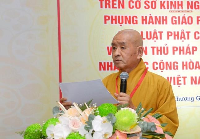 Đại hội Phật giáo quận Tân Bình lần X: Thượng tọa Thích Đạt Đức tái nhiệm Trưởng ban Trị sự ảnh 43