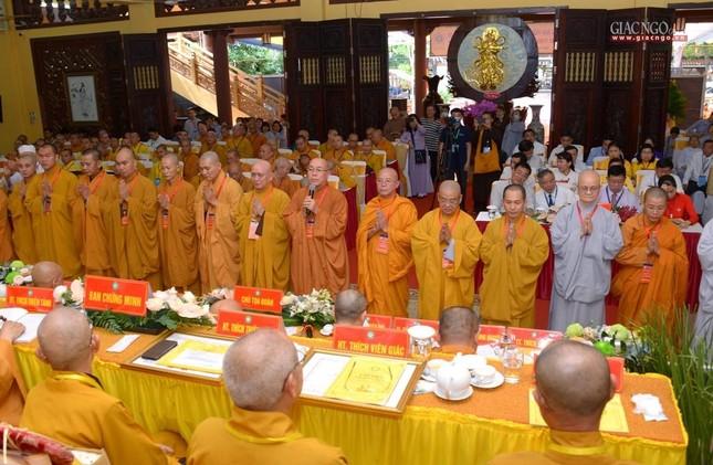 Đại hội Phật giáo quận Tân Bình lần X: Thượng tọa Thích Đạt Đức tái nhiệm Trưởng ban Trị sự ảnh 45