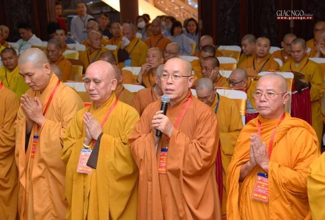 Đại hội Phật giáo quận Tân Bình lần X: Thượng tọa Thích Đạt Đức tái nhiệm Trưởng ban Trị sự ảnh 6