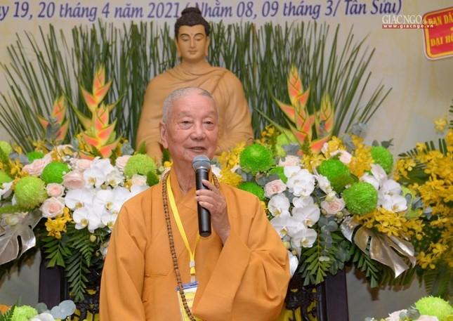 Đại hội Phật giáo quận Tân Bình lần X: Thượng tọa Thích Đạt Đức tái nhiệm Trưởng ban Trị sự ảnh 5