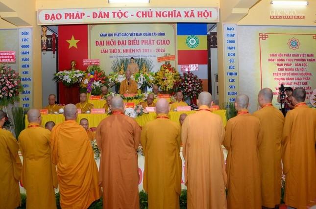 Đại hội Phật giáo quận Tân Bình lần X: Thượng tọa Thích Đạt Đức tái nhiệm Trưởng ban Trị sự ảnh 47