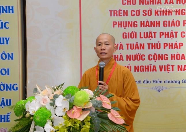 Đại hội Phật giáo quận Tân Bình lần X: Thượng tọa Thích Đạt Đức tái nhiệm Trưởng ban Trị sự ảnh 48