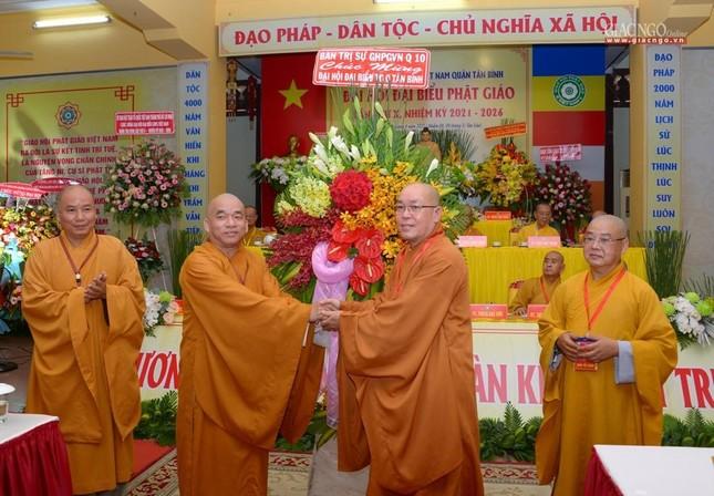 Đại hội Phật giáo quận Tân Bình lần X: Thượng tọa Thích Đạt Đức tái nhiệm Trưởng ban Trị sự ảnh 49