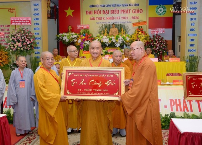 Đại hội Phật giáo quận Tân Bình lần X: Thượng tọa Thích Đạt Đức tái nhiệm Trưởng ban Trị sự ảnh 50