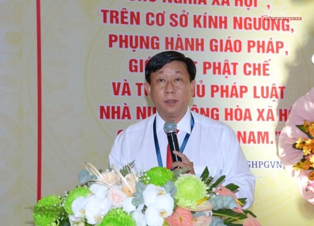 Đại hội Phật giáo quận Tân Bình lần X: Thượng tọa Thích Đạt Đức tái nhiệm Trưởng ban Trị sự ảnh 7
