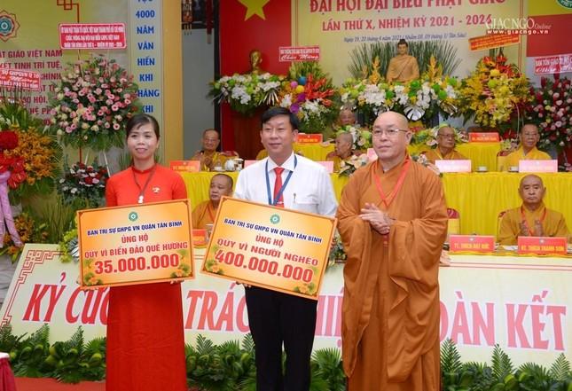 Đại hội Phật giáo quận Tân Bình lần X: Thượng tọa Thích Đạt Đức tái nhiệm Trưởng ban Trị sự ảnh 54