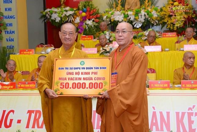 Đại hội Phật giáo quận Tân Bình lần X: Thượng tọa Thích Đạt Đức tái nhiệm Trưởng ban Trị sự ảnh 55