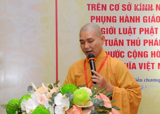 Đại hội Phật giáo quận Tân Bình lần X: Thượng tọa Thích Đạt Đức tái nhiệm Trưởng ban Trị sự ảnh 56