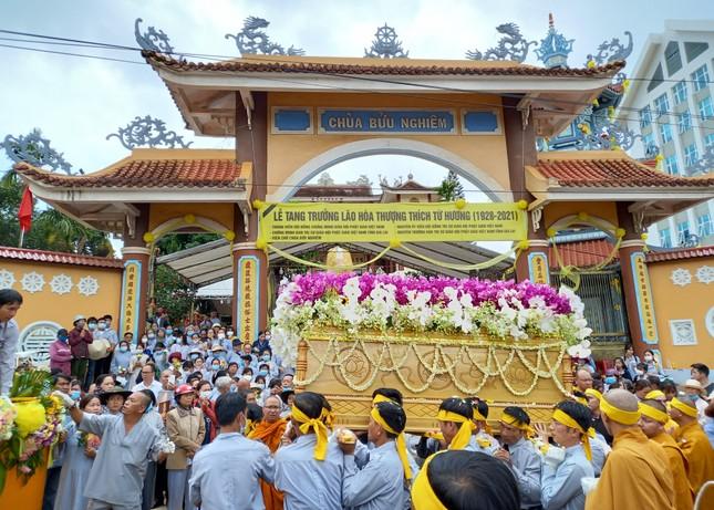 Gia Lai: Lễ truy niệm, cung tống kim quan Trưởng lão Hòa thượng Thích Từ Hương nhập tháp ảnh 4