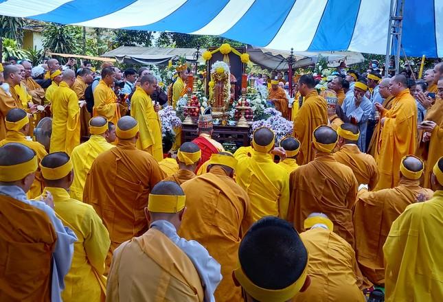 Gia Lai: Lễ truy niệm, cung tống kim quan Trưởng lão Hòa thượng Thích Từ Hương nhập tháp ảnh 14