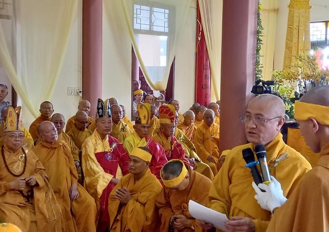 Gia Lai: Lễ truy niệm, cung tống kim quan Trưởng lão Hòa thượng Thích Từ Hương nhập tháp ảnh 2