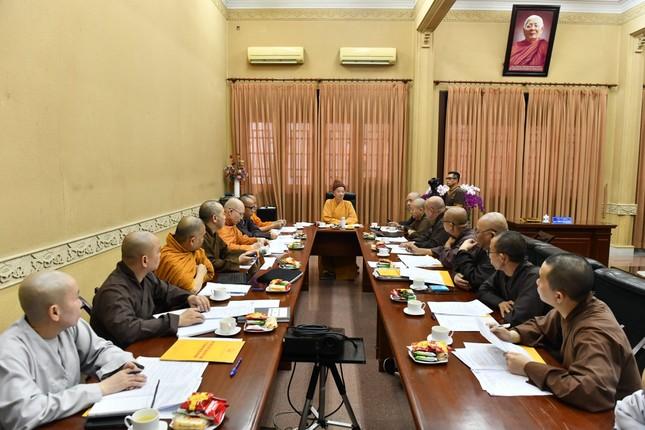 Học viện Phật giáo VN tại TP.HCM: Chuẩn bị tuyển sinh Cử nhân Phật học năm 2021 và bổ sung nhân sự ảnh 1