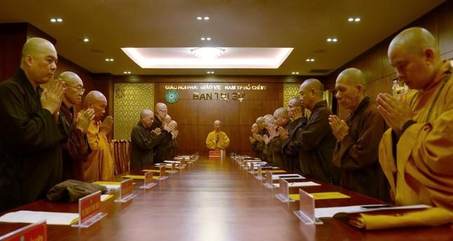 TP.HCM: Ban Thường trực Ban Trị sự thảo luận, thống nhất nhiều Phật sự quan trọng ảnh 3