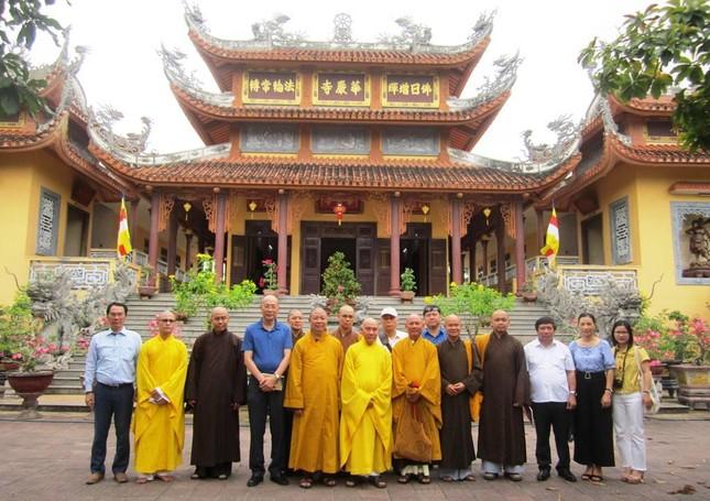 Quảng Ngãi: Ban Văn hóa Trung ương thăm, tìm hiểu Phật giáo địa phương ảnh 1