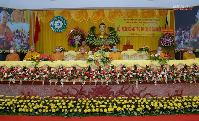Lần đầu tiên Ban Tăng sự Trung ương tổ chức hội nghị về Đại giới đàn ảnh 1