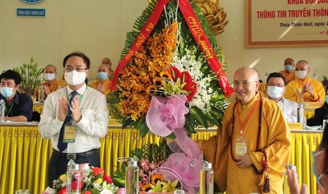 Thừa Thiên Huế: Khai mạc khóa bồi dưỡng nghiệp vụ thông tin truyền thông Phật giáo ảnh 7
