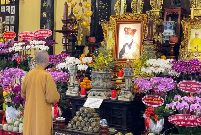 Tưởng niệm 25 năm ngày Thượng tọa Thích Minh Phát viên tịch tại tổ đình Ấn Quang ảnh 2