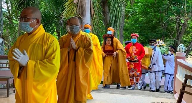 Khánh Hòa: Cung thỉnh kim quan Hòa thượng Thích Ngộ Tịnh trà-tỳ ảnh 7