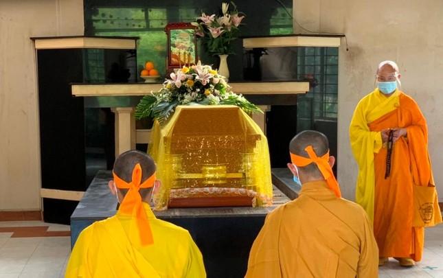 Khánh Hòa: Cung thỉnh kim quan Hòa thượng Thích Ngộ Tịnh trà-tỳ ảnh 8