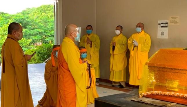 Khánh Hòa: Cung thỉnh kim quan Hòa thượng Thích Ngộ Tịnh trà-tỳ ảnh 3