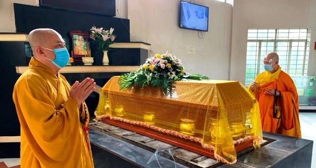 Khánh Hòa: Cung thỉnh kim quan Hòa thượng Thích Ngộ Tịnh trà-tỳ ảnh 2